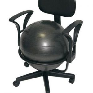 Aeromat Deluxe Fitness Ball Office Style Chair