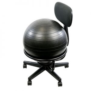 Cando Mobile Exercise Ball Chair